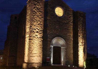 Complesso Templare di San Bevignate_Notturno